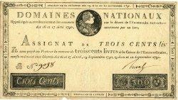 300 Livres FRANCE  1791 Muz.19 TTB