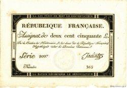 250 Livres FRANCE  1793 Muz.46 NEUF
