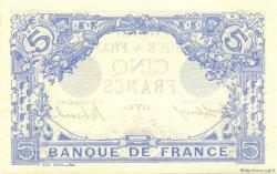 5 Francs BLEU FRANCE  1913 F.02.15 pr.NEUF