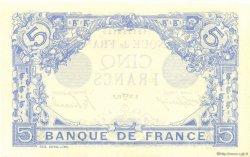 5 Francs BLEU FRANCE  1915 F.02.26 NEUF