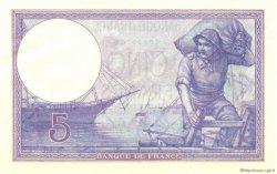 5 Francs VIOLET FRANCE  1917 F.03.01