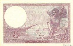 5 Francs VIOLET modifié FRANCE  1939 F.04.11 NEUF