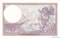 5 Francs VIOLET modifié FRANCE  1940 F.04.15 SPL+