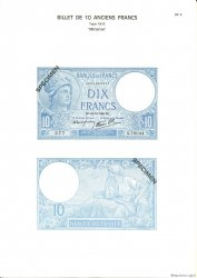 10 Francs MINERVE modifié FRANCE  1975 F.07pl NEUF