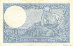 10 Francs MINERVE modifié FRANCE  1939 F.07.03 SUP+