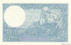 10 Francs MINERVE modifié FRANCE  1940 F.07.21 NEUF