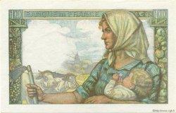 10 Francs MINEUR FRANCE  1943 F.08.09 SPL+
