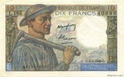10 Francs MINEUR FRANCE  1949 F.08.21 pr.NEUF