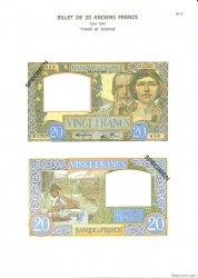 20 Francs SCIENCE ET TRAVAIL FRANCE  1975 F.12.0 NEUF