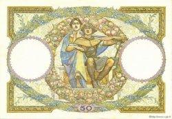 50 Francs LUC OLIVIER MERSON type modifié FRANCE  1933 F.16.04 pr.SPL