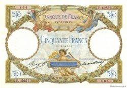 50 Francs LUC OLIVIER MERSON type modifié FRANCE  1934 F.16.05 SPL