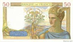50 Francs CÉRÈS modifié FRANCE  1937 F.18.02 pr.NEUF