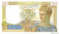 50 Francs CÉRÈS modifié FRANCE  1938 F.18.11 pr.NEUF