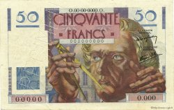 50 Francs LE VERRIER FRANCE  1946 F.20.00s1a SPL+