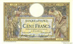 100 Francs LUC OLIVIER MERSON sans LOM FRANCE  1913 F.23.05 SUP+