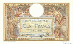 100 Francs LUC OLIVIER MERSON type modifié FRANCE  1937 F.25.05 SUP+