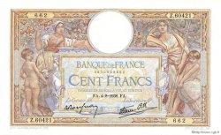100 Francs LUC OLIVIER MERSON type modifié FRANCE  1938 F.25.27 pr.NEUF
