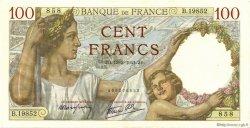 100 Francs SULLY FRANCE  1941 F.26.48 SPL+