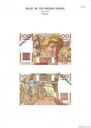 100 Francs JEUNE PAYSAN FRANCE  1975 F.28.0