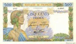 500 Francs LA PAIX FRANCE  1942 F.32.41 pr.NEUF