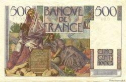 500 Francs CHATEAUBRIAND FRANCE  1947 F.34.07 TTB à SUP