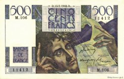 500 Francs CHATEAUBRIAND FRANCE  1948 F.34.08 SUP à SPL