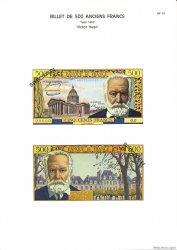 500 Francs VICTOR HUGO FRANCE  1975 F.35pl NEUF