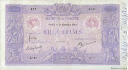1000 Francs BLEU ET ROSE FRANCE  1904 F.36.18 TB