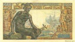 1000 Francs DÉESSE DÉMÉTER FRANCE  1943 F.40.16 SUP