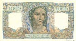 1000 Francs MINERVE ET HERCULE FRANCE  1945 F.41.07 SUP