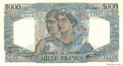1000 Francs MINERVE ET HERCULE FRANCE  1946 F.41.10 NEUF