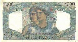 1000 Francs MINERVE ET HERCULE FRANCE  1948 F.41.22 pr.SPL