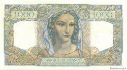 1000 Francs MINERVE ET HERCULE FRANCE  1949 F.41.26 SPL