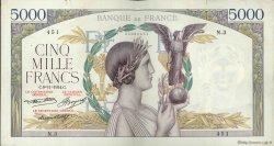 5000 Francs VICTOIRE FRANCE  1934 F.44.01 pr.TTB