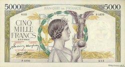 5000 Francs VICTOIRE Impression à plat FRANCE  1944 F.46.51 pr.SUP