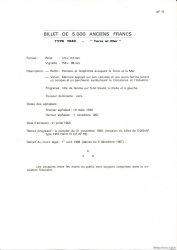 5000 Francs TERRE ET MER FRANCE  1975 F.48.0 NEUF