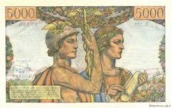 5000 Francs TERRE ET MER FRANCE  1953 F.48.09 pr.NEUF