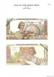 10000 Francs GÉNIE FRANÇAIS FRANCE  1975 F.50pl NEUF