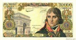 10000 Francs BONAPARTE FRANCE  1957 F.51.07 SPL