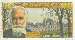 5 Nouveaux Francs VICTOR HUGO FRANCE  1959 F.56.00s1 pr.NEUF