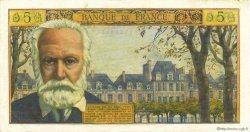 5 Nouveaux Francs VICTOR HUGO FRANCE  1963 F.56.14 pr.SUP
