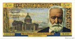 5 Nouveaux Francs VICTOR HUGO FRANCE  1965 F.56.17 pr.NEUF