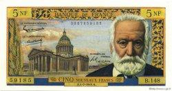 5 Nouveaux Francs VICTOR HUGO FRANCE  1965 F.56.19 pr.NEUF