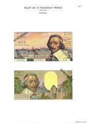 10 Nouveaux Francs RICHELIEU FRANCE  1975 F.57.0 NEUF