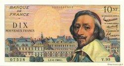 10 Nouveaux Francs RICHELIEU FRANCE  1960 F.57.08
