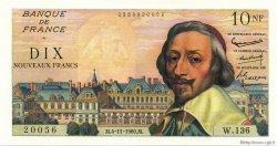 10 Nouveaux Francs RICHELIEU FRANCE  1960 F.57.11 SPL+