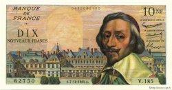 10 Nouveaux Francs RICHELIEU FRANCE  1961 F.57.16 SPL+