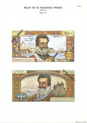 50 Nouveaux Francs HENRI IV FRANCE  1975 F.58.0 NEUF