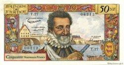 50 Nouveaux Francs HENRI IV FRANCE  1959 F.58.03 pr.SPL