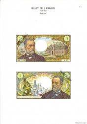 5 Francs PASTEUR FRANCE  1975 F.61.0 NEUF